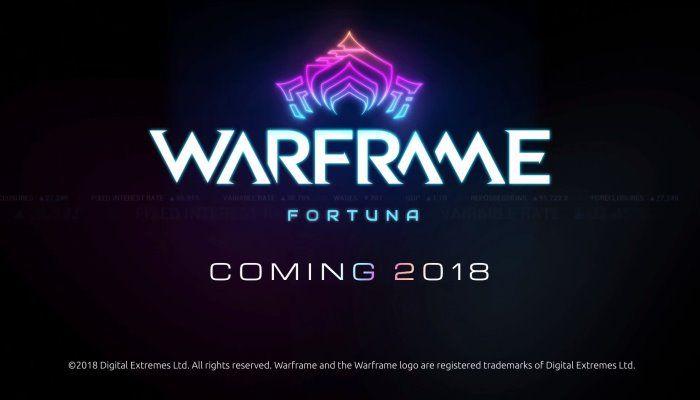 Warframe - Fortuna Update Reveal Trailer - TennoCon 2018