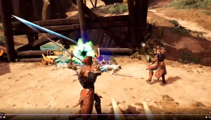 Action Combat Shown in Latest Stream Event & Full Stream Replay - Ashes of Creation Videos