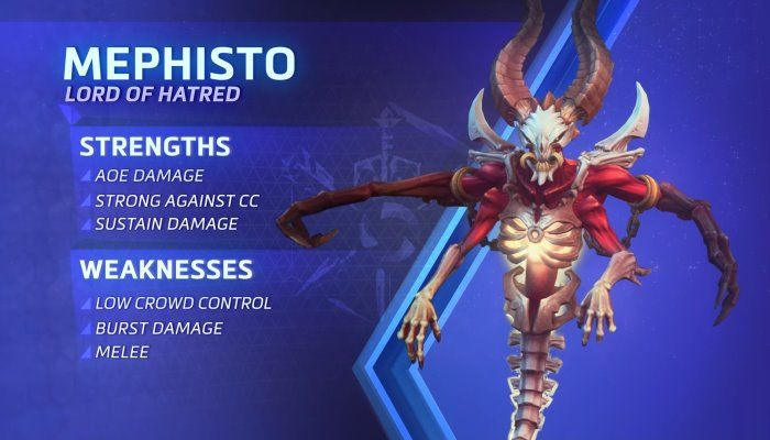Heroes of the Storm - Mephisto Spotlight - a New Ranged Assassin Coming to the Nexus