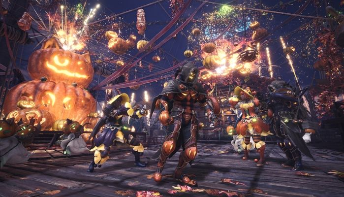 Monster Hunter: World - Autumn Harvest Fest Event Begins for Console