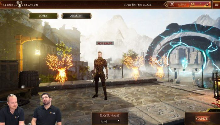 Ashes of Creation Live Stream - Stress Test News & Battle Royale Mode - Ashes of Creation News