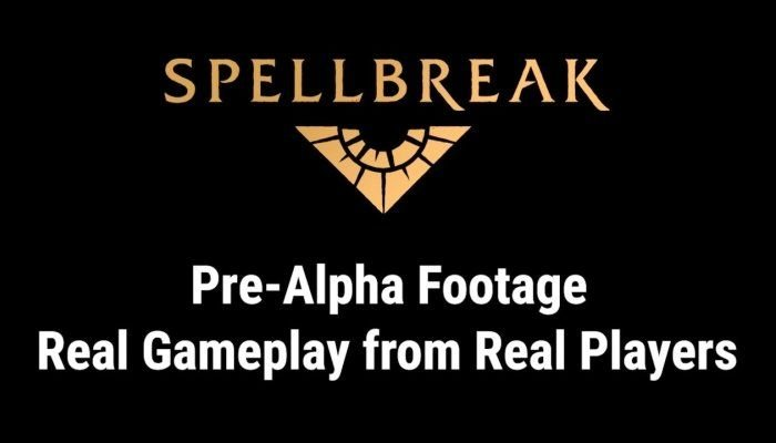 Spellbreak Pre-alpha Teaser - Epic Magic Combat in a Battle Royal / RPG