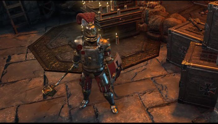 Warhammer: Chaosbane - Captain Of The Empire Gameplay Video