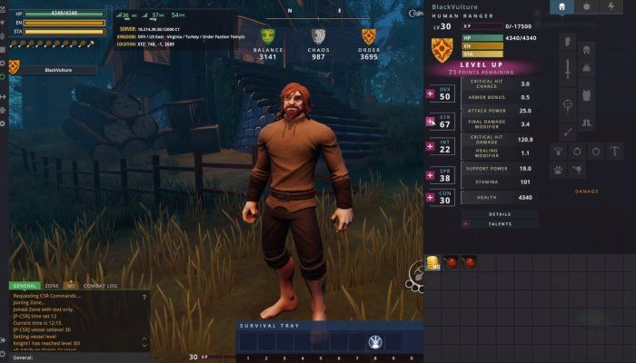 All About the Crowfall Talent System