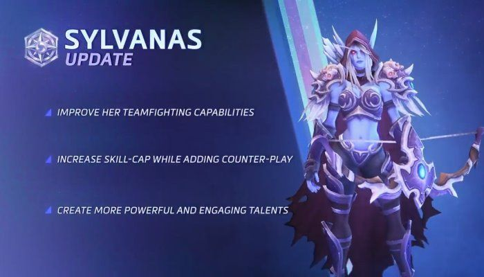 Heroes of the Storm Sylvanas Update - Heroes of the Storm News