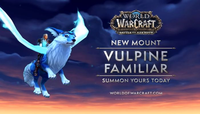 New World of Warcraft Shop Mount - The Vulpine Familiar