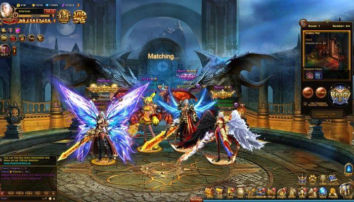 Dragon Awaken - MMORPG com