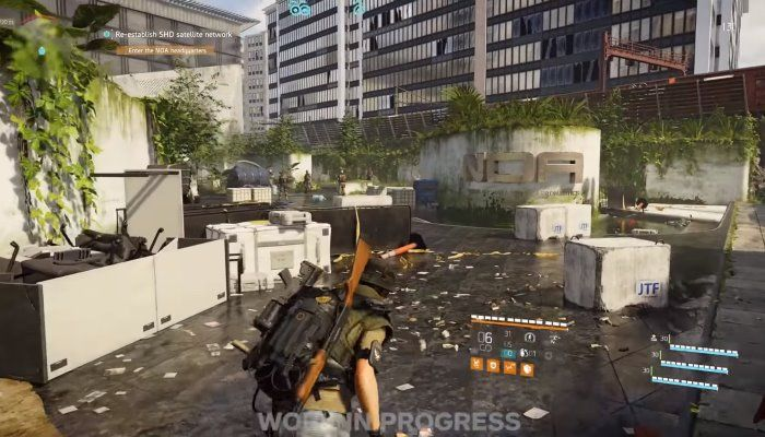 The Division 2: 20 Minutes of Co-op Mission Gameplay