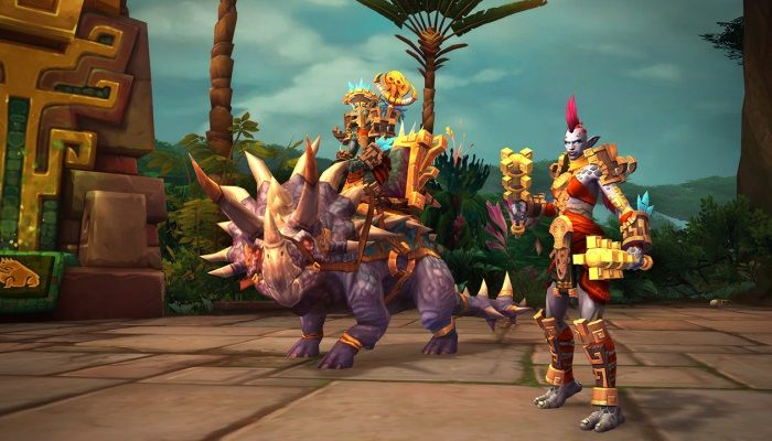 World of Warcraft Devs Preview Zandalari Trolls & Kul Tiran Human Allied Races