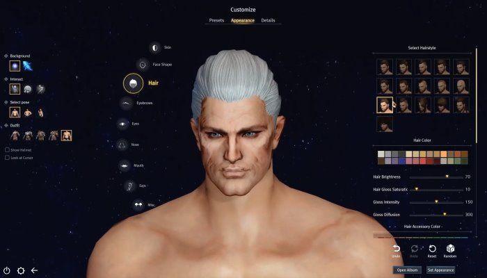 Astellia Online Team Showcases Warrior Character Creation