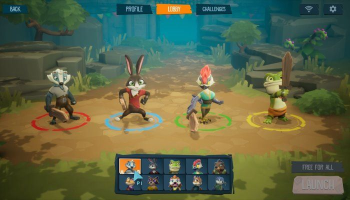 Robot Entertainment Reveals ReadySet Heroes for PS4, A Dungeon Crawler with a Twist
