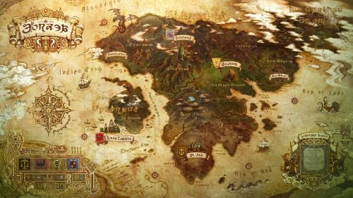 Mabinogi World Map.Official Site Update Reveals World Map Limsa Lominsa Mmorpg Com