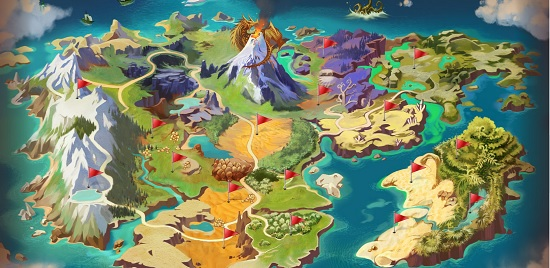Fully interactive world map debuts dragomon hunter mmorpg check it out on the dragomon hunter site gumiabroncs Choice Image