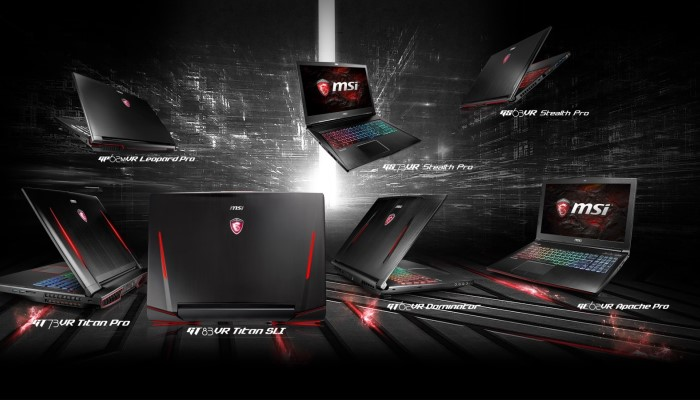 MSI brings top of the line NVIDIA GPUs to new Pascal laptop series.