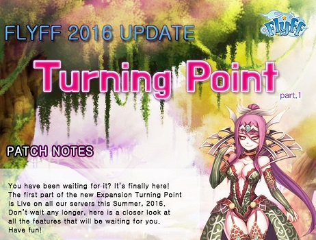 Flyff expands with Turning Point Part 1