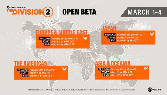 Prepare for Tomorrow's Open Beta by Downloading The Division
