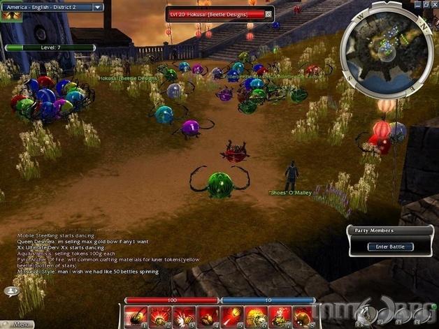Guild Wars Factions Screenshots - MMORPG com