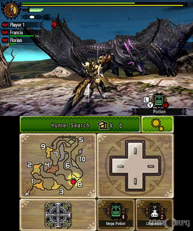 Monster Hunter 4: Ultimate continues the monster hunting & catching series  with new emphasis on