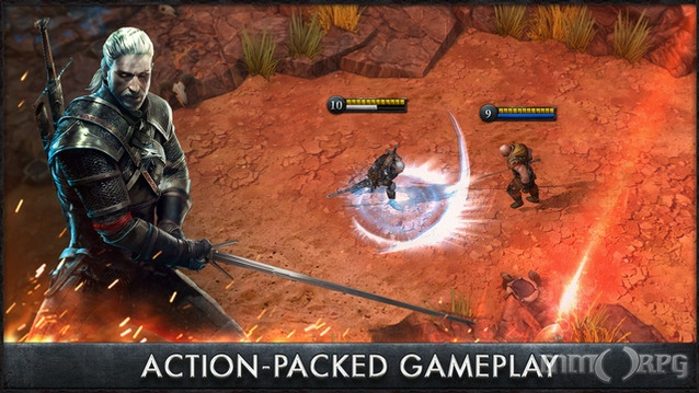 The Witcher Battle Arena is a free to play MOBA for mobile devices set in the universe of The Witcher RPG series.