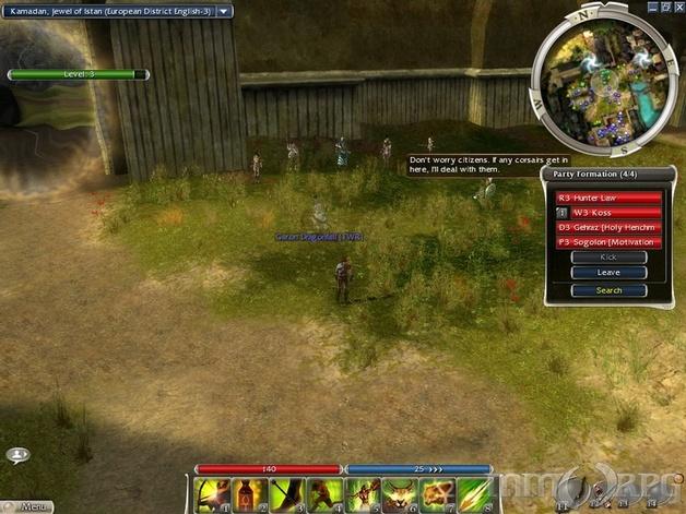 Guild Wars Nightfall Screenshots - MMORPG com