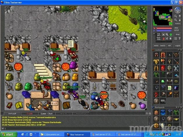 Tibia Screenshots - MMORPG.com