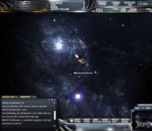 DarkOrbit Reloaded Screenshots - MMORPG com