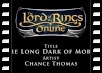 Soundtrack - Chance Thomas - The Long Dark of Moria