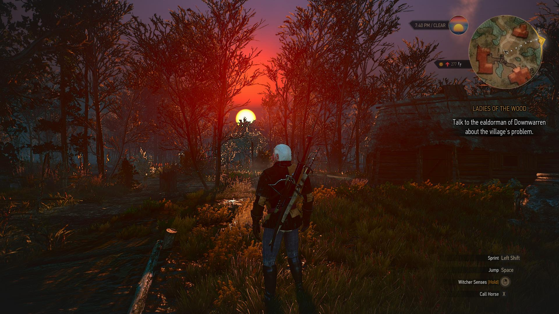 red moon witcher 3 - photo #1