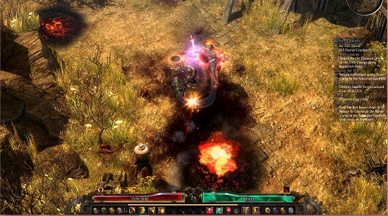 how to use skill grim dawn
