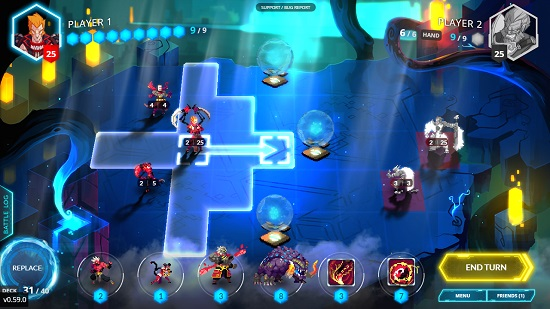 Card Game Meets Turn-Based Strategy Coated with Pixel Art ...