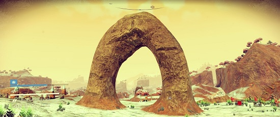 No Man's Sky's world building tech is damned impressive to behold.